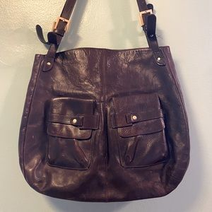 Vintage Leather Compartment Bag